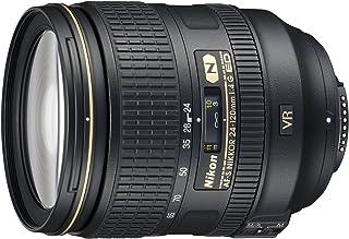 Nikon AF-S 24-120mm f4G IF ED VR Lens, Black