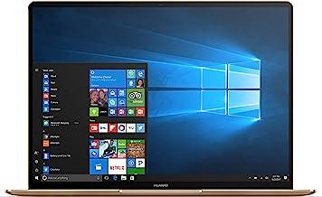 """Huawei MateBook X Signature Edition Ultraslim Laptop, 13"""" QHD (2K), Intel Core i7-7500U, 8GB RAM, 512GB SSD, Fingerprint, ..."""