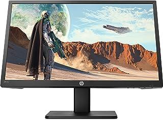 HP 6ML40AA 22x (21.5''/FHD 144Hz) oyun monitörü (AMD FreeSync, 1 x HDMI, 1 x VGA, tepki süresi 1 ms), Siyah