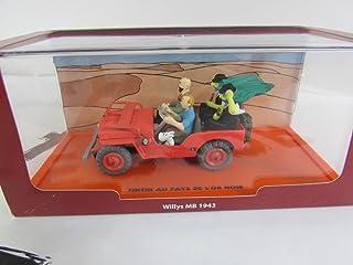 Willys Mb 1943 Tintin En El Pais Del Oro Negro Coleccion Coches De Tintin