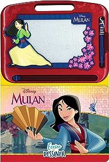 Phidal Disney Mulan Écrire et Dessiner, Français