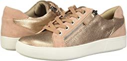 Rose Multi Crackle Metallic Leather/Suede