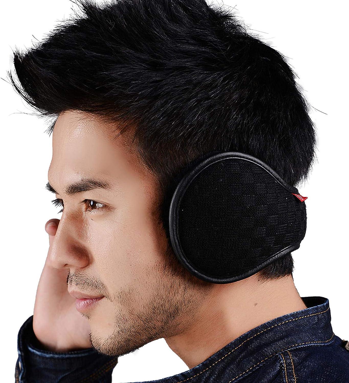 Ear Warmers For Men Women Warm Charlotte Mall Max 51% OFF Unisex Fleece Foldable Winter