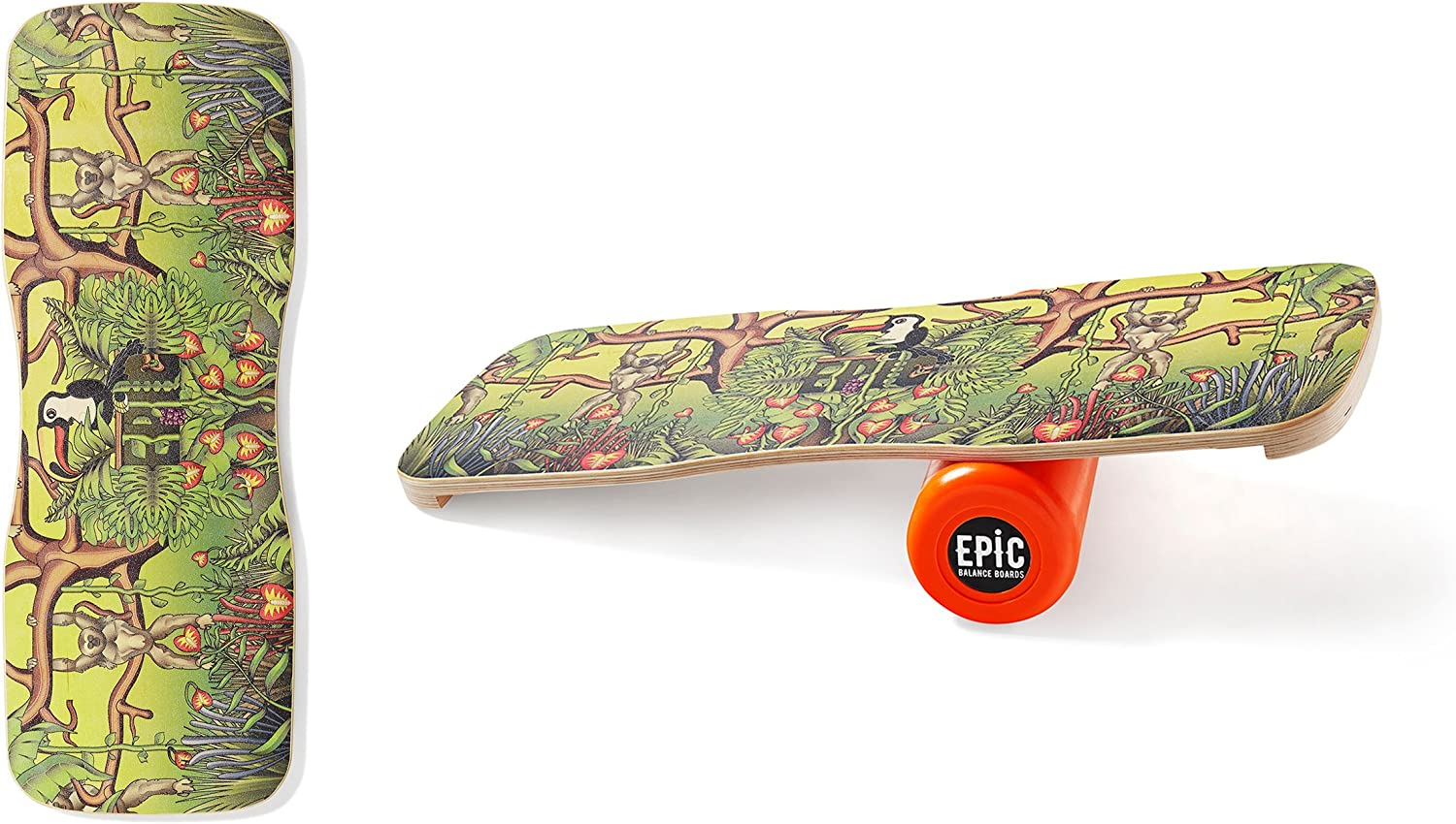 Epic Jungle Balance Board - Balance Trainer - Epic Balanceboards