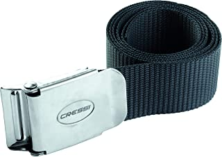 Cressi Weight Belt for Free Diving, Spear Fishing | Marseillaise - Nylon - Quick-Release Buckle Quality Since 1946