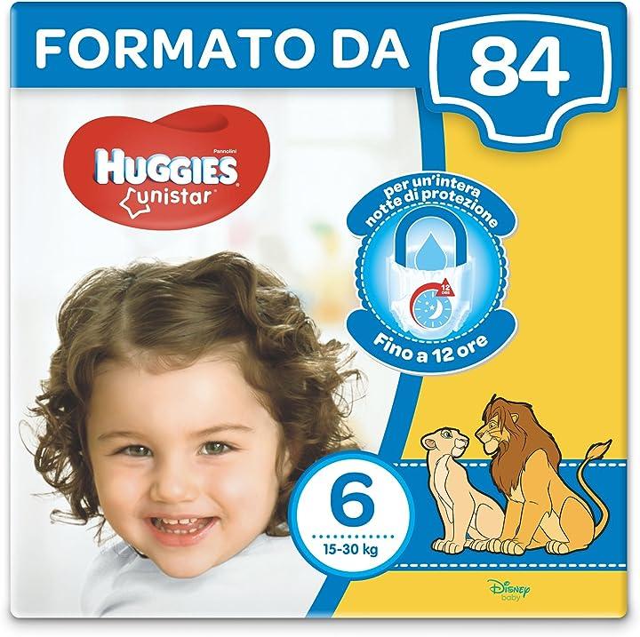 Pannolini, taglia 6 (15-30 kg), confezione da 84 pannolini 2578341