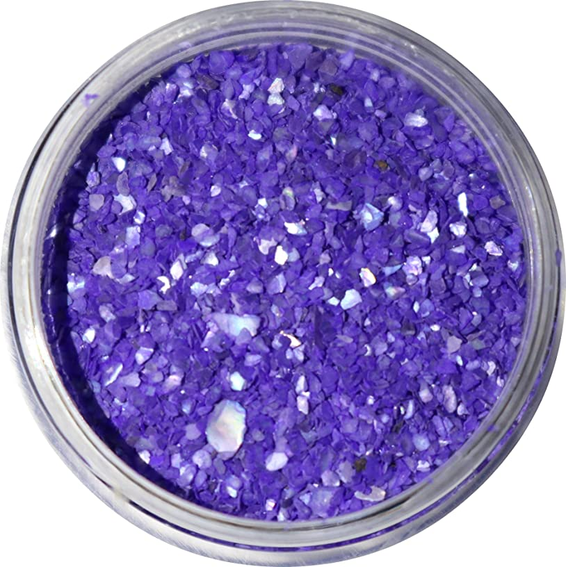 上昇必要ない再び【jewel】微粒子タイプ シェルパウダー 3g入り 12色から選択可能 (バイオレットブルー)
