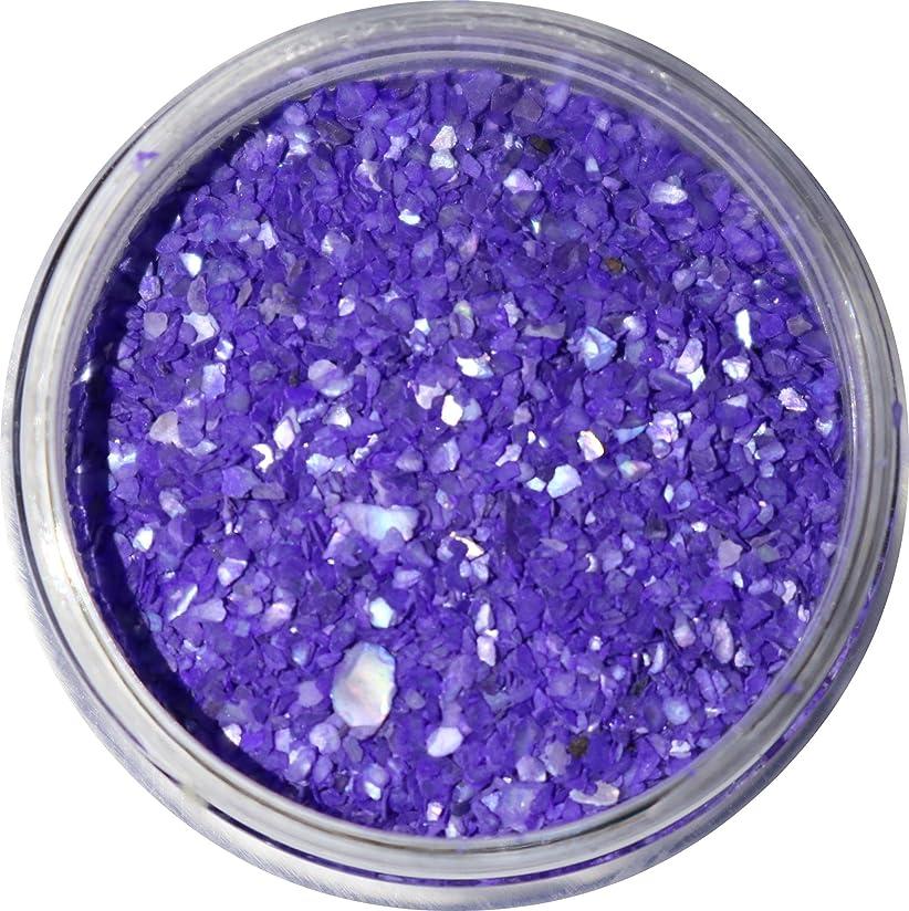 応援する手名前【jewel】微粒子タイプ シェルパウダー 3g入り 12色から選択可能 (バイオレットブルー)