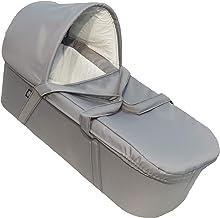 EICHHORN Feste Baby-Tragetasche für Kinderwagen, Silbergrau