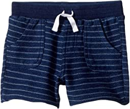 Splendid Littles Yarn-Dye Stripe Baby French Terry Shorts (Infant)