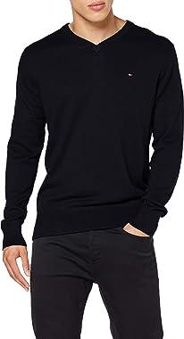 Tommy Hilfiger Pima Cotton Cashmere V Neck Sweater Homme
