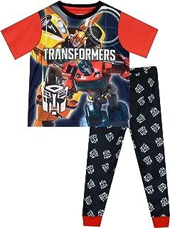 Boys' Bumblebee Optimus Prime Pajamas Size 4 to 10