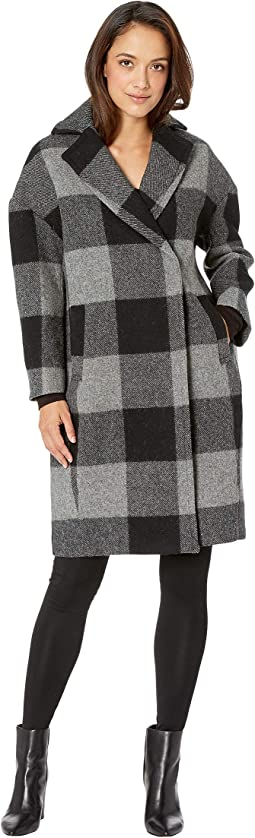 Grey/Black Buffalo Check