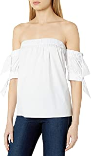 MILLY Women's Bow Top