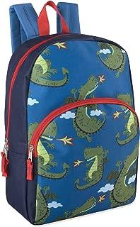 "Trail maker Kids Character Backpacks for Boys & Girls (15"") with Adjustable, Padded Back Straps"