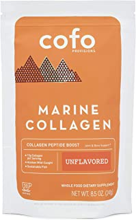 Cofo Provisions Marine Collagen Superpowder, Unflavored, Sustainably-Sourced, Alaskan Wild Caught, Joint Bone Skin Support...