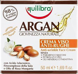Equilibra Argan Crema Viso Anti-Rughe, 50 ml