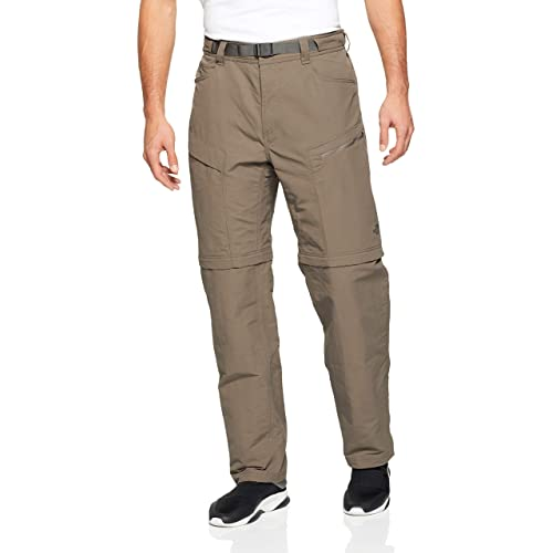 Womens The North Face Gray Hiking Trail Zip Off Convertible Belt Pants 6 X 31 The Latest Fashion Pants