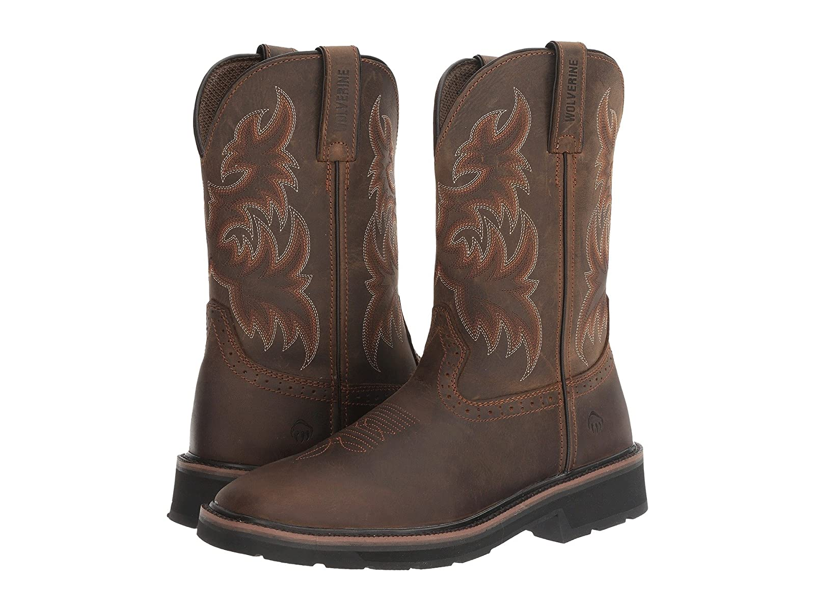 Wolverine Rancher Wellington Soft ToeEconomical and quality shoes
