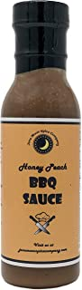 Premium | Georgia HONEY PEACH BBQ Sauce | Crafted in Small Batches with Farm Fresh SPICES for Premium Flavor and Zest