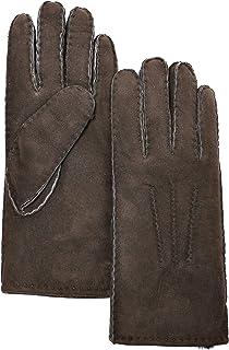 YISEVEN Women's Merino Rugged sheepskin Shearling Leather Gloves