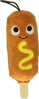 Kidrobot Yummy World Cornelius Corn Dog Collectable Plush Toy, Small, 4 Inch