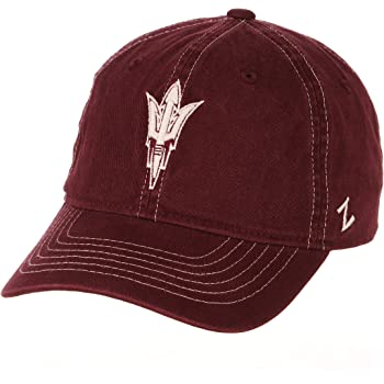 Zephyr NCAA Mens Nimbus Washed Cotton Relaxed Hat