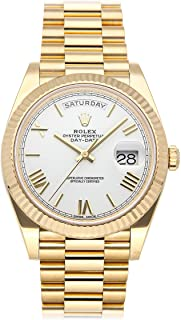 Rolex Day-Date Mechanical (Automatic) White Dial Mens Watch 228238 (Certified Pre-Owned)