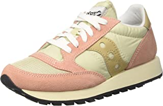 Saucony Womens Jazz Original Vintage S60368-31 Tan Muted Clay Suede Trainers 37.5 EU