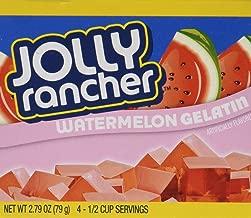 Jolly Rancher Watermelon Gelatin Jello (4 Boxes)