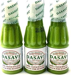 DASAVI ダサビ レモンチリソース 爽やか辛い 万能ソース 130g×3本セット 【ベトナム直輸入】