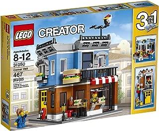Creator 3 in 1 LEGO 467 Pcs Corner Deli Brick Box Building Toys