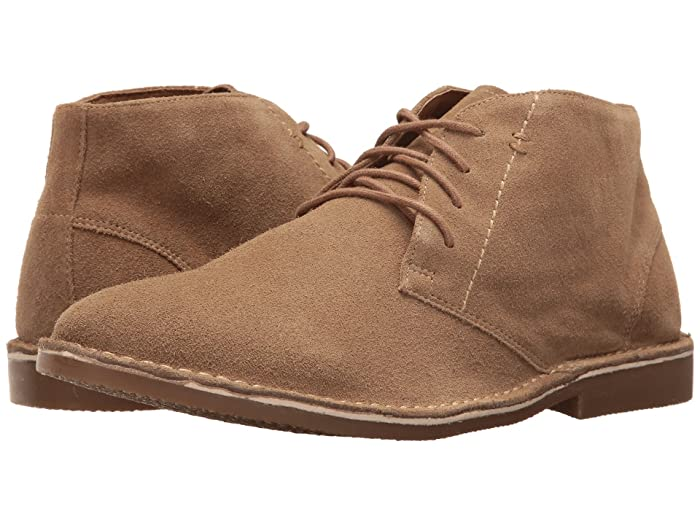 Nunn Bush Galloway Plain Toe Chukka Boot (Beige) Men's Lace up casual Shoes