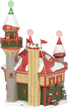 Department 56 North Pole Village Santa's Snowflake Palace Lit Building, 10.51 Inch, Multicolor