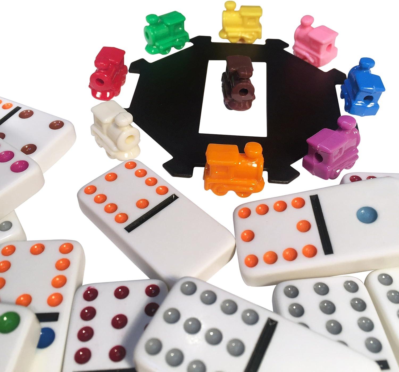 Amazon Com Juegos Domino Tren Mexicano Toys Games