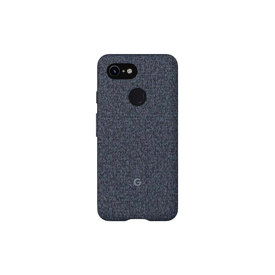 Google Fabric Case Cell Phone Case for Pixel 3XL - Indigo Fabric