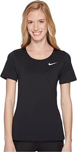 Nike Pro Mesh Short Sleeve Top
