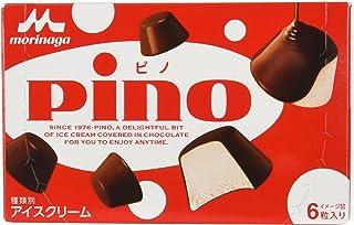 Morinaga Chocolate Bites Pino Ice Cream (6 Pieces) - Frozen, 60 ml (packaging may vary)