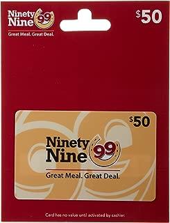 ninety nine gift cards