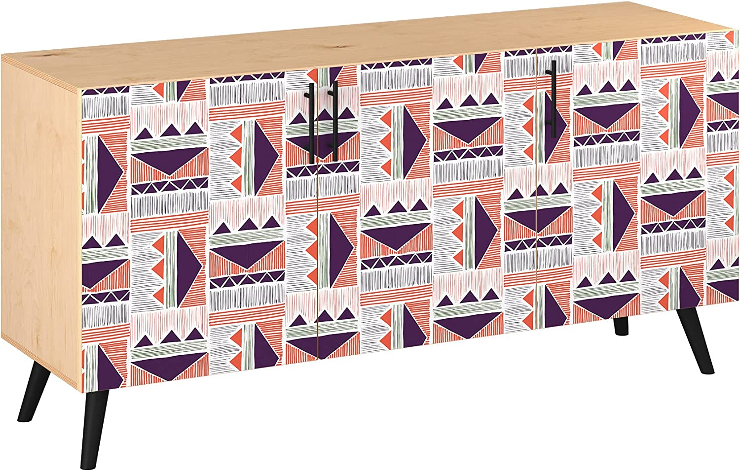 Poppy Sideboard - Natural Velma Design Colors 5 Sty Superior in Max 58% OFF Base 11
