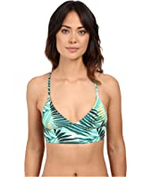 Roxy - Jungle Fever Tri Bikini Top