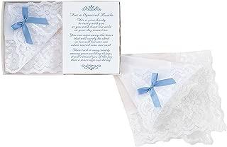 wedding hankies for bride