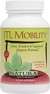 Natura Health Products - JTL Mobility 90 Capsules - Combines Specialized Nutrients with Powerful Herbal Compounds to Support Healthy Function of Joints, Tendons and Ligaments