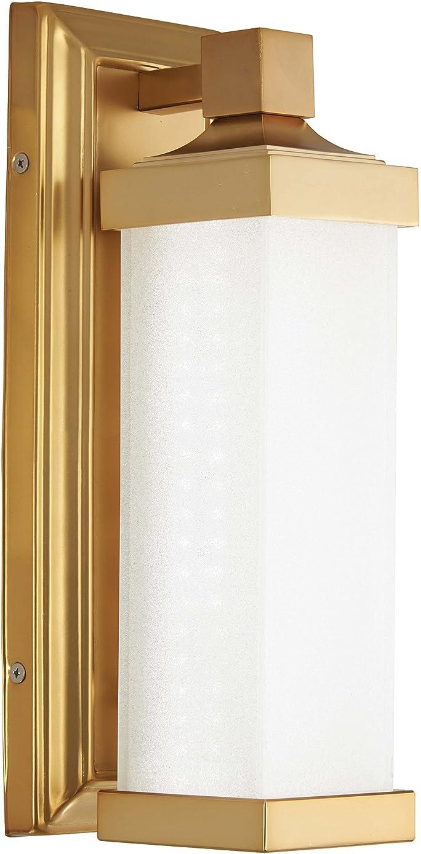 Minka Lavery Wall Sconce Lighting 5501-249-L Wall Lamp Fixture, 1-Light LED 15 Watts, Liberty Gold