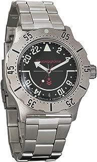 Vostok Komandirskie K-35 24 Hour Dial Mechanical AUTO Self-Winding Mens Military Wrist Watch #350617