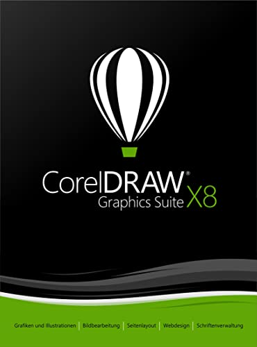 CorelDRAW Graphics Suite X8 Upgrade [Download]