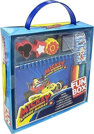 Disney Mickey Mouse. Aventuras Sobre Rodas - Caixa. Coleção Fun Box