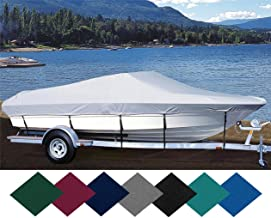TLSBU 6.25 oz SEMI-Custom Boat Cover for SEA RAY 210 CC Monaco I/O 1984-1987