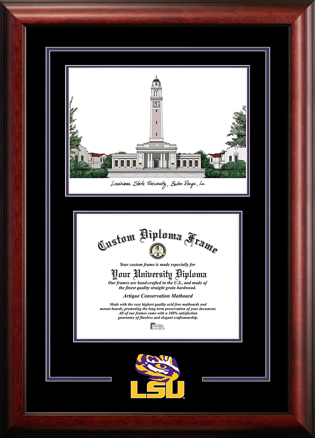 Sales for sale Campus Images LA999SG LSU Tigers Diploma Sales of SALE items from new works Frame Spirit Graduate