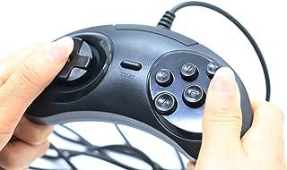 IDS Classic Wired 6 Buttons SEGA USB Classic Gamepad USB Game Controller Joypad for SEGA